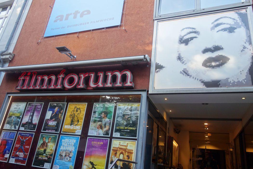 Das Bild zeigt das Filmforum in Duisburg
