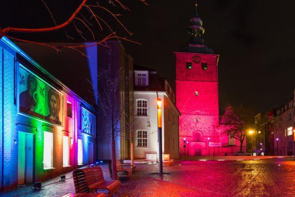 """Das Bild zeigt die Veranstaltung """"Recklinghausen leuchtet"""""""