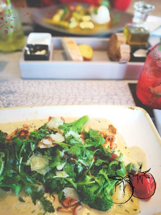Das Bild zeigt einen Salat in der Küppersmühle