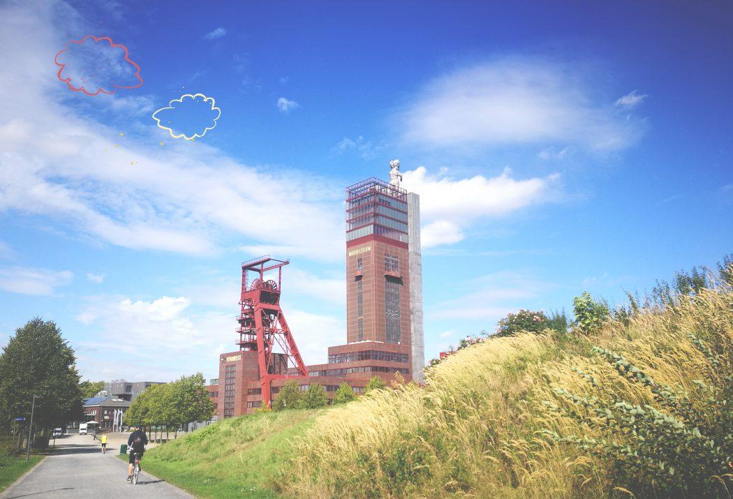 Das Bild zeigt den Nordsternturm in Gelsenkirchen