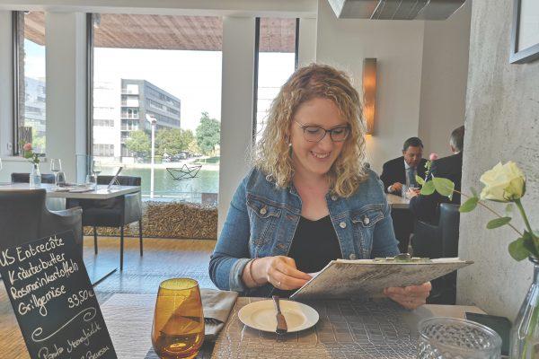 Das Foto zeigt Ronja in der Küppresmühle