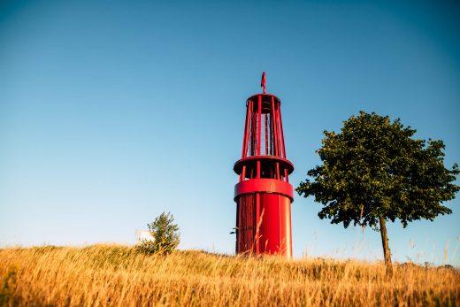 Das Bild zeigt die Halde Rheinpreußen bei Tageslicht