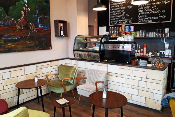 Das Foto zeigt das Cafe Möller