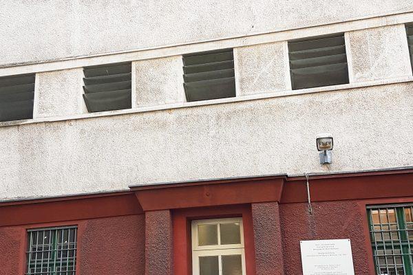 Das Foto zeigt die Steinwache in Dortmund
