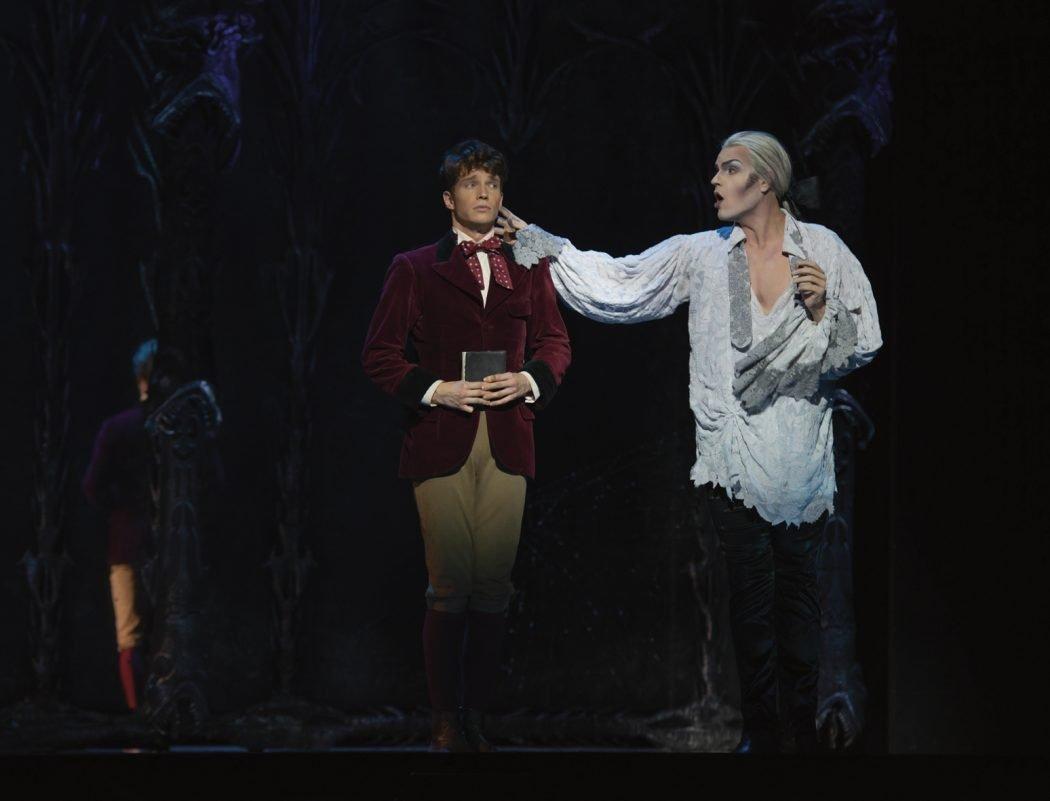 Das Foto zeigt Alfred im Musical Tanz der Vampire