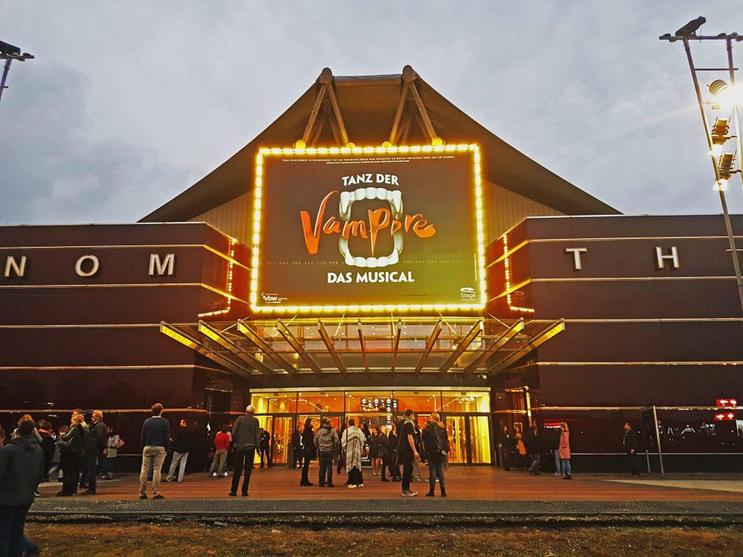 Das Foto zeugt das Stage Metronom Theater in Oberhausen