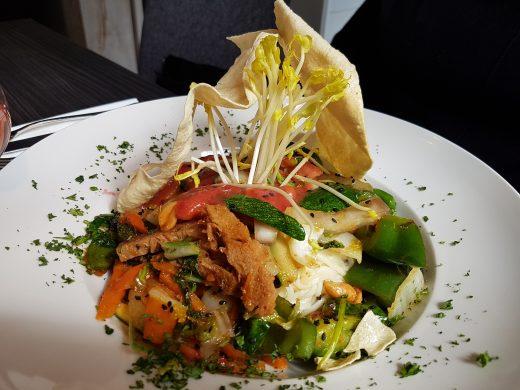 Das Bild zeigt das Essen im Petersilchen in Xanten