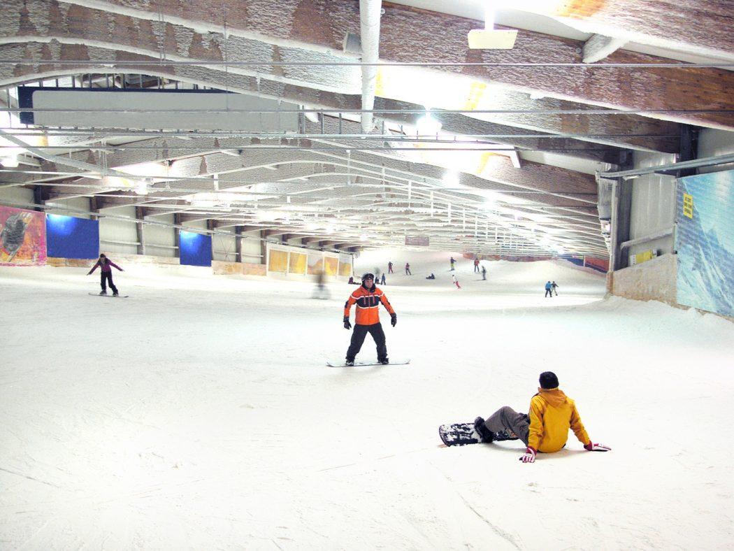 Das Bild zeigt das alpincenter Bottrop