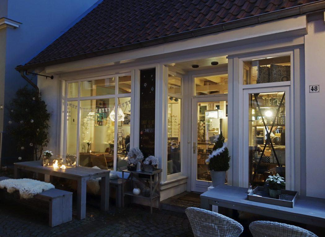 Das Foto zeigt das Cafe Seizeon in Essen-Werden