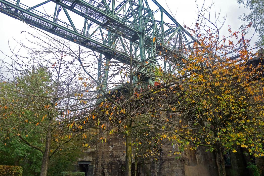 Das Bild zeigt den Landschaftspark Duisburg-Nord