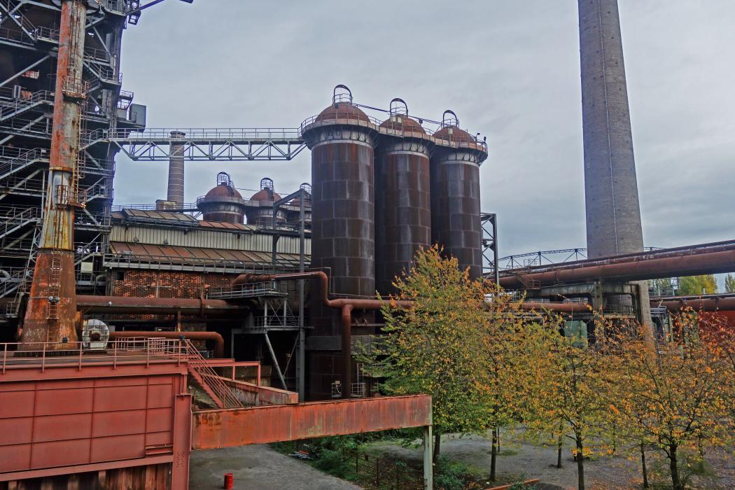 Das Foto zeigt den Landschaftspark Duisburg-Nord