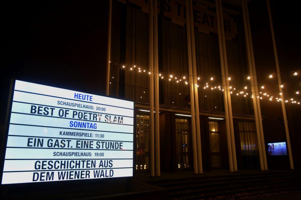 Das Foto zeigt das Schauspielhaus Bochum