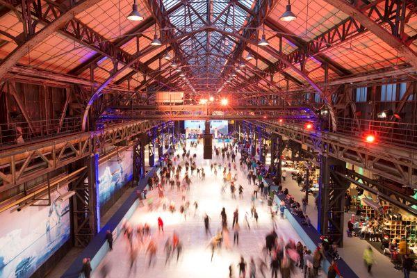 Das Bild zeigt den Eissalon Ruhr