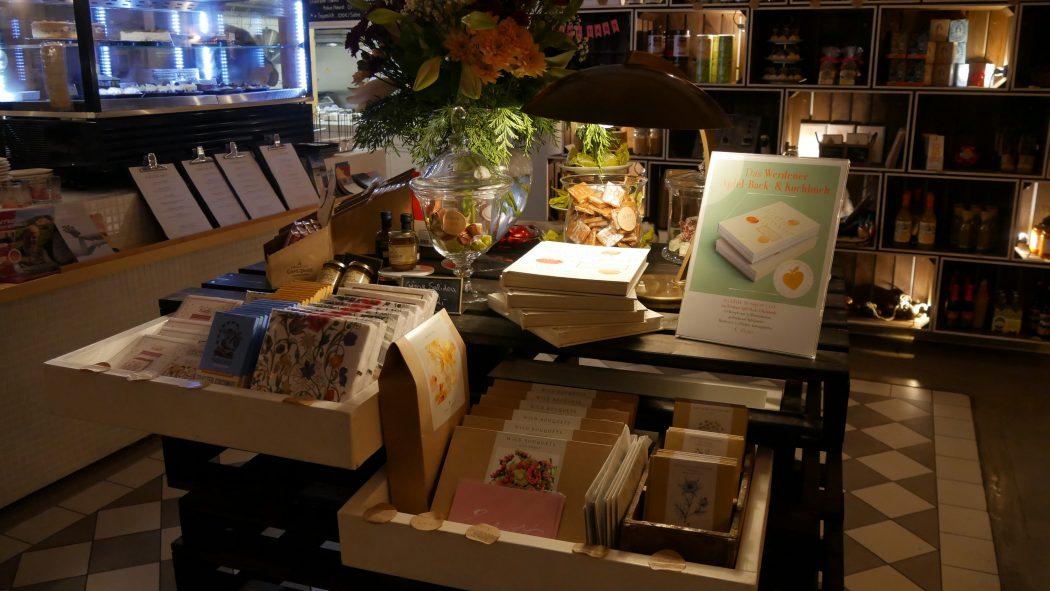 Das Foto zeigt das schöne Sortiment im Dolcinella in Essen-Werden