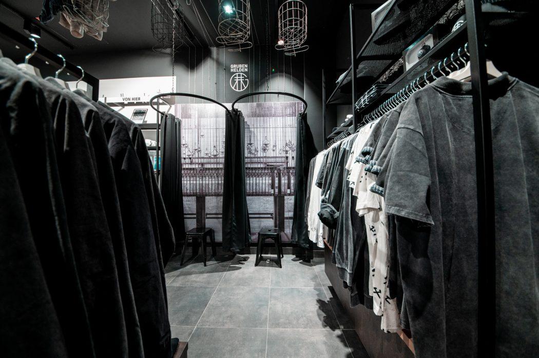 Grubenhelden Kleidung im neuen Store im Centro Oberhausen