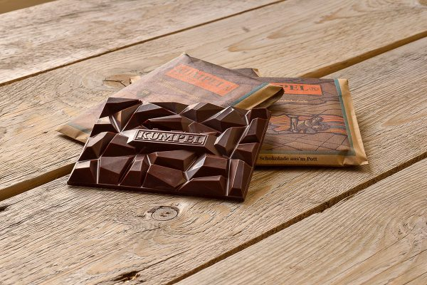 Amalie aus der Kumpel-Schokoladenkollektion