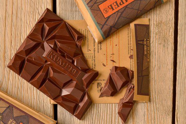Zum anbeißen ist die Kumpel-Schokolade Amalie