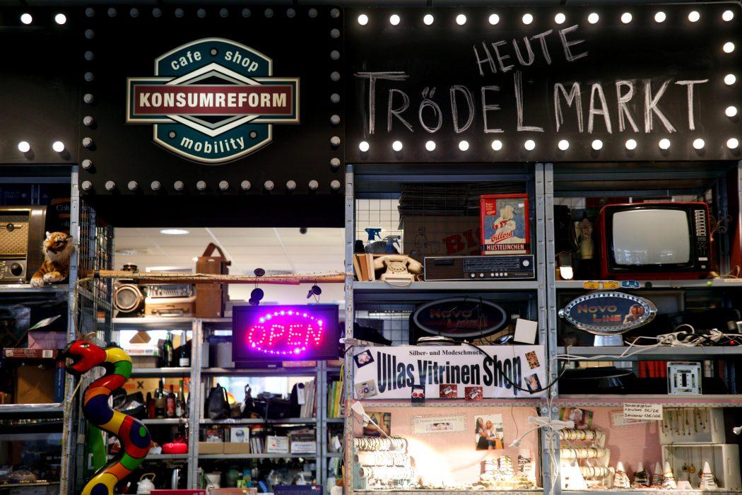 Das Foto zeigt das Konsumreform
