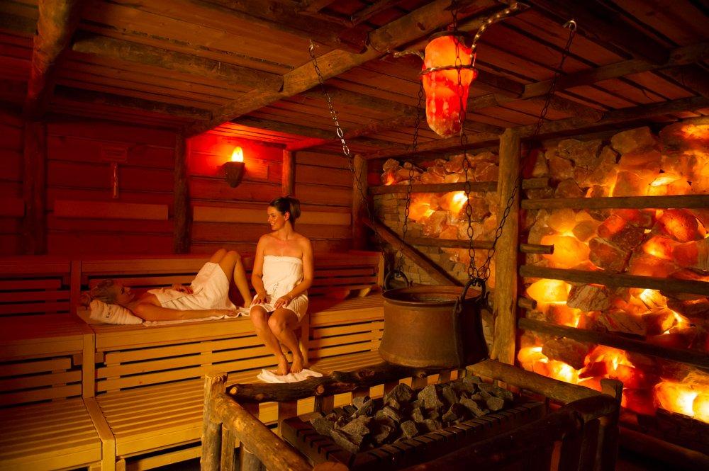 Das Foto zeigt die Saune der Therme Grugapark