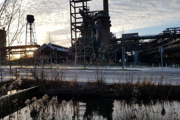 Das Foto zeigt die Industrieanlage Phönix West