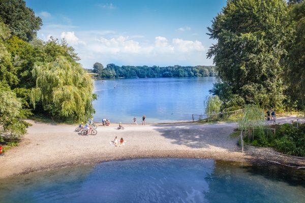 Das Foto zeigt die Sechs-Seen-Platte in Duisburg