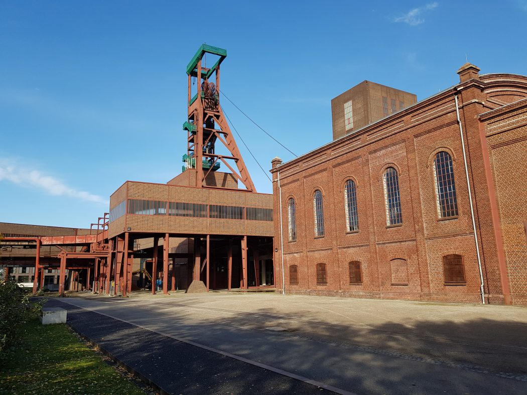 Das Bild zeigt die Zeche Zollverein