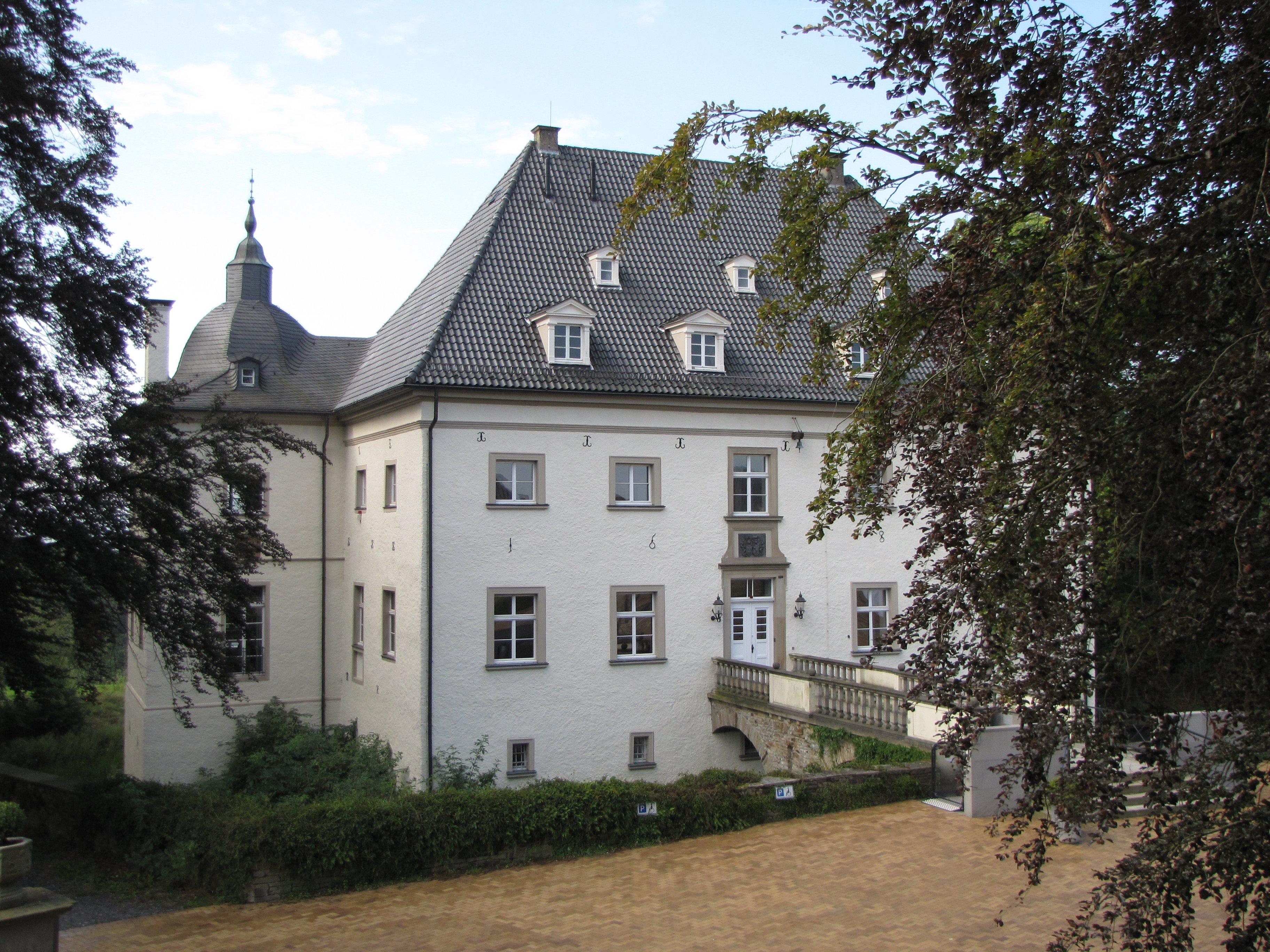 Das Bild zeigt das Haus Opherdicke in Holzwickede