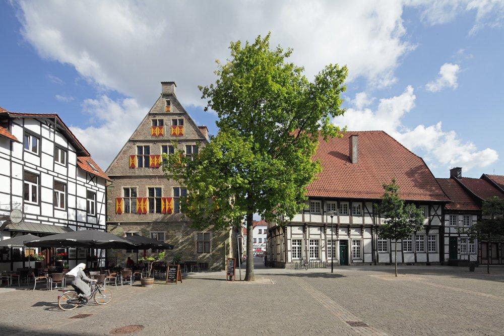 Das Bild zeigt die Stadt Werne
