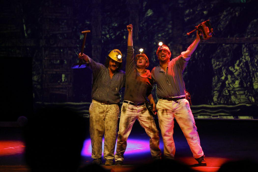 Das Bild zeigt Bergmänner in Radio Ruhrpott - Das Ruhrical
