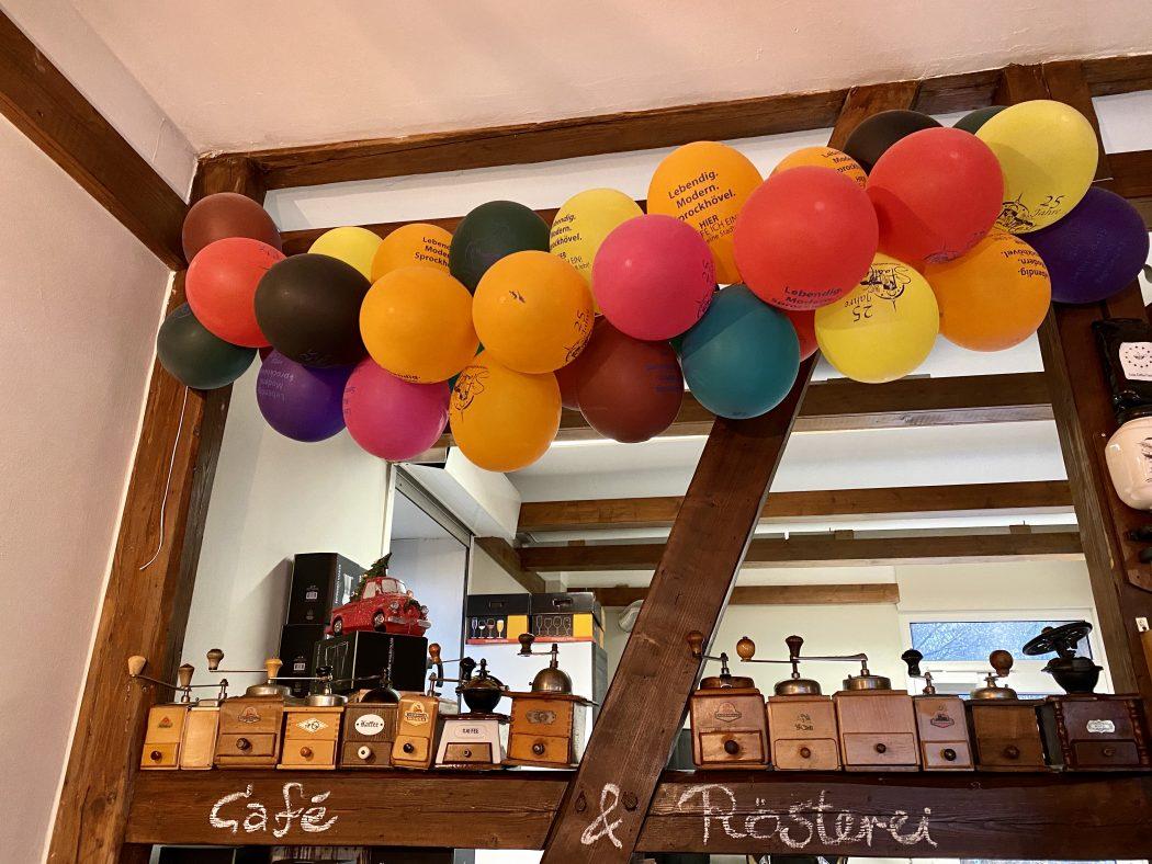 Das Bild zeigt Lulus Coffe Factory