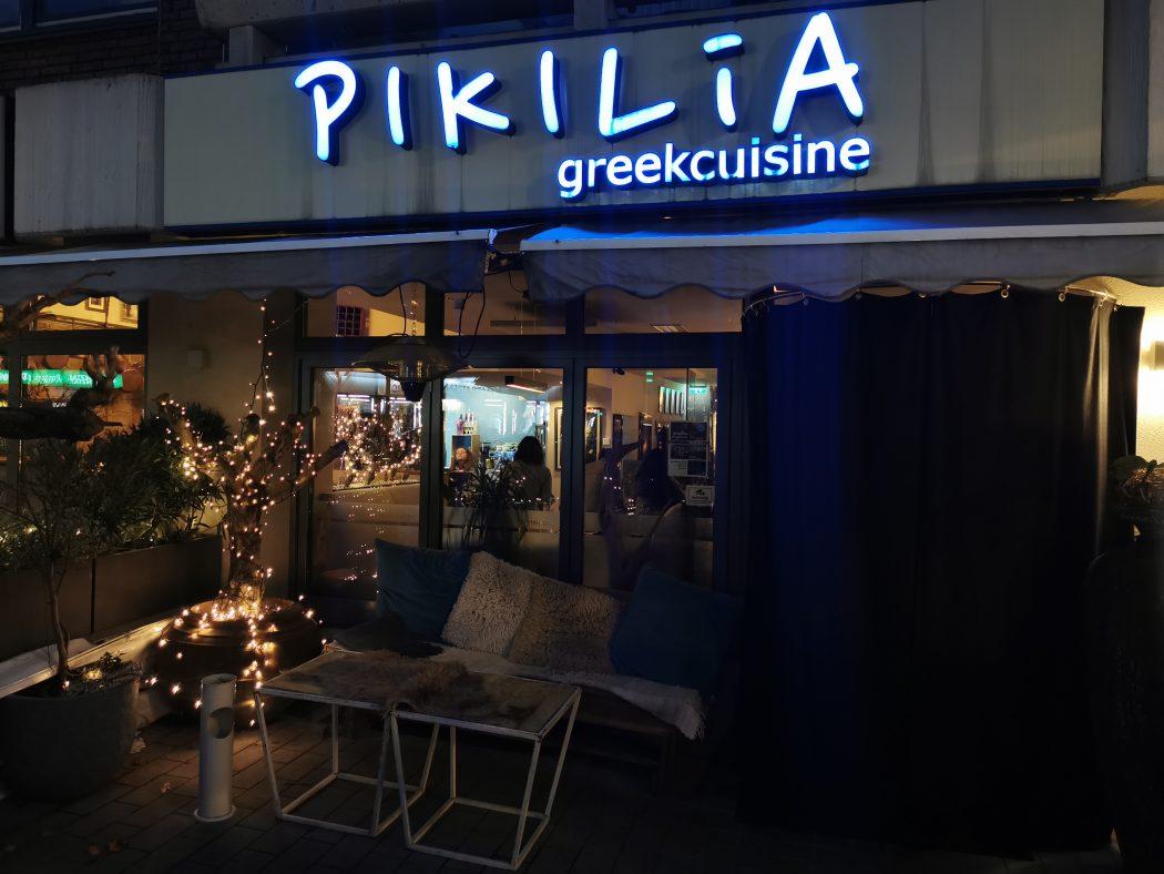Das Bild zeigt das Restaurant Pikilia in Bottrop