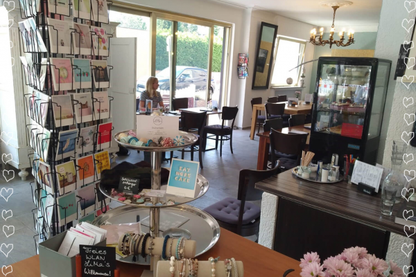 Das Bild zeigt das Cafe Limas in Duisburg