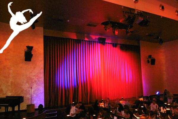 Das Bild zeigt den Veranstaltungssaal im GOP Variete Theater