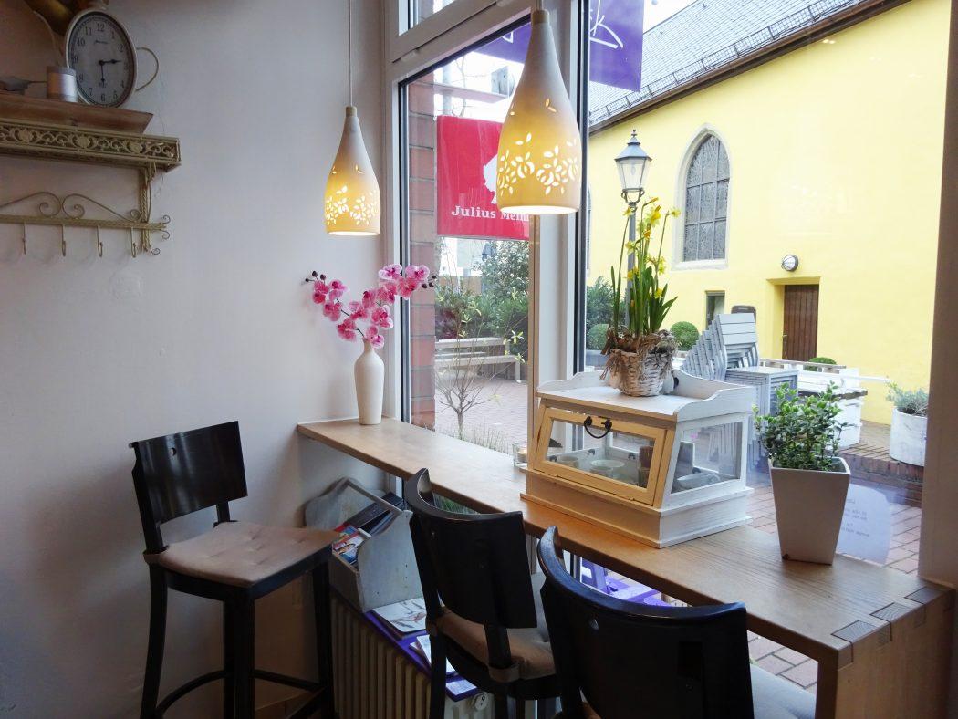 Das Bild zeigt das Café Glanzstück