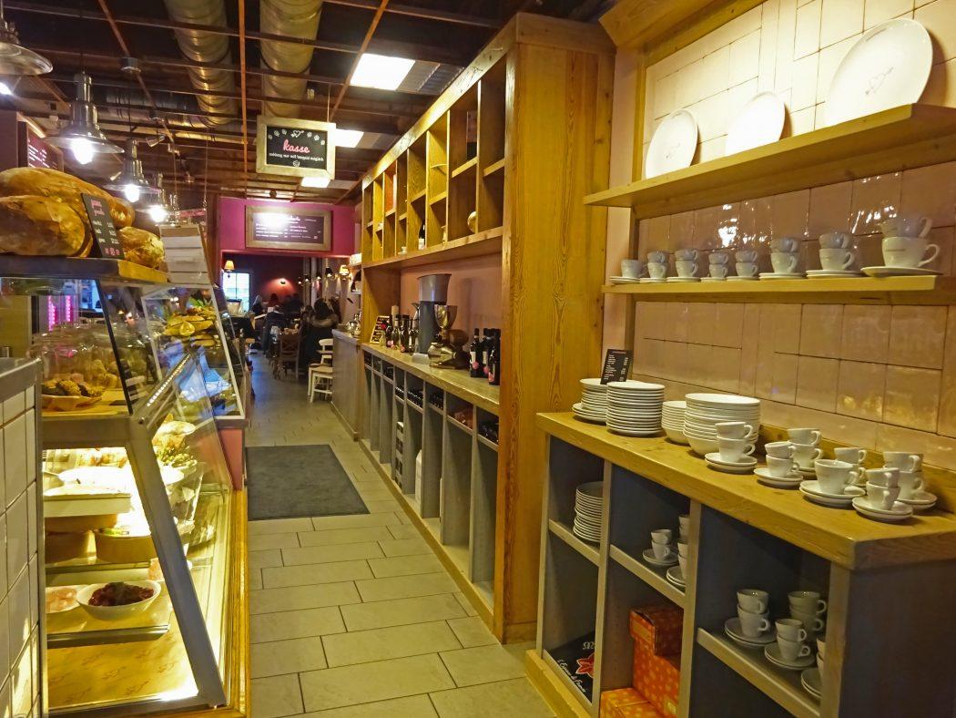 Das Bild zeigt das Café Miamamia