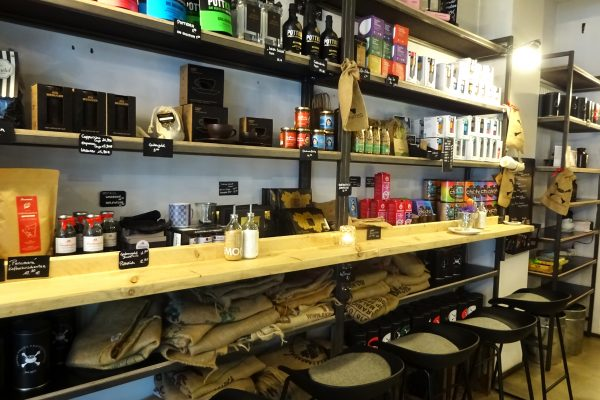 Das Bild zeigt das Lokal Coffee Pirates