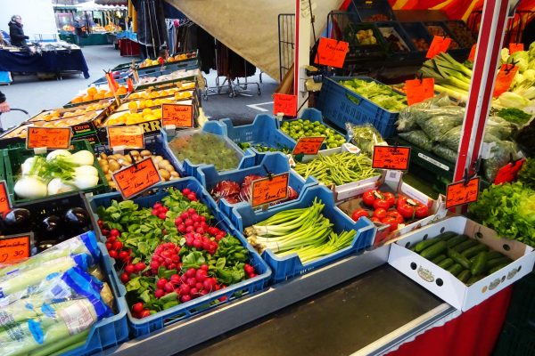 Das Bild zeigt den Rüttenscheider Markt