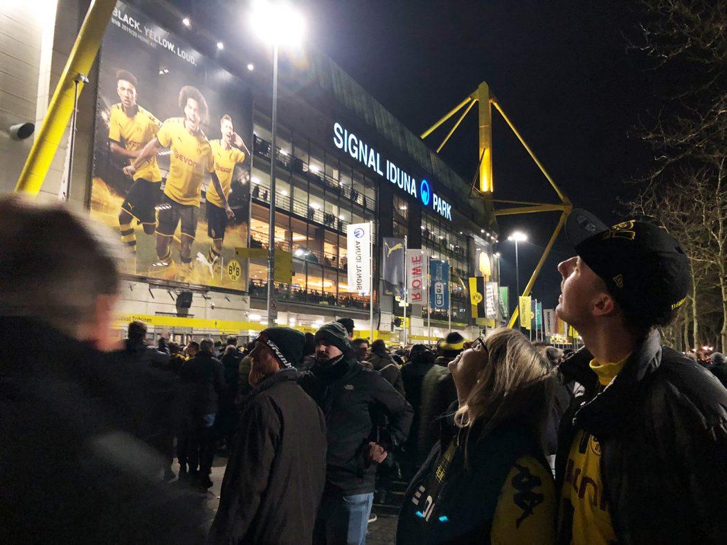 Voll ist es auch in Dortmund