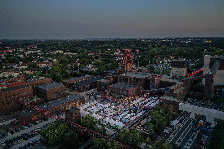 Das Bild zeigt Zollverein von oben