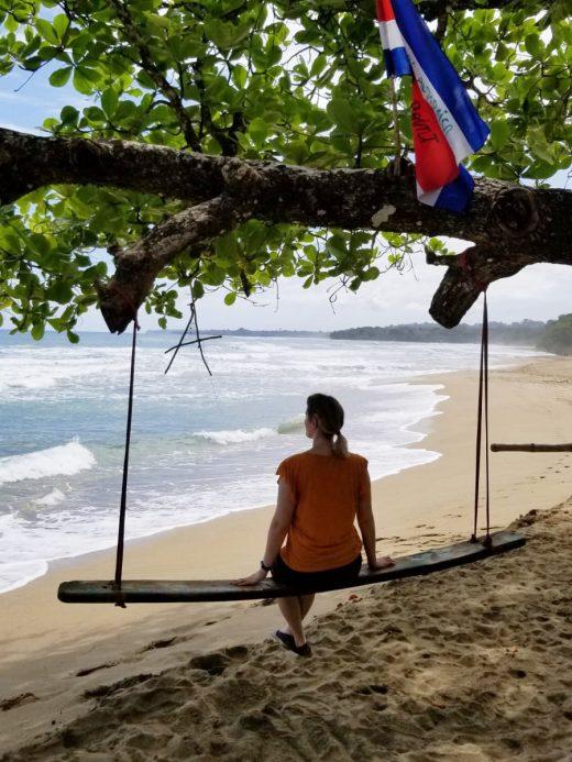 Das Foto zeigt Katalina in Costa Rica
