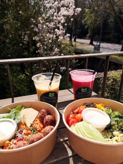 Das Foto zeigt Essen vom Nährstoff-Reich Bochum