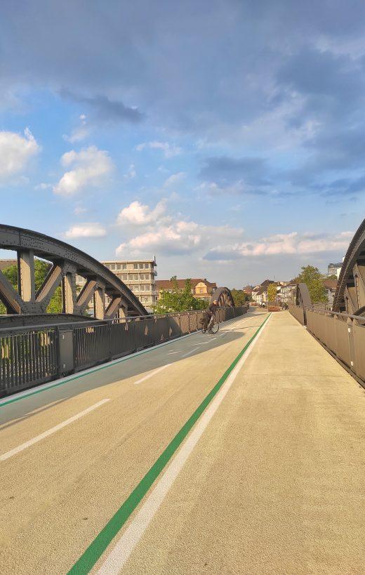 Das Foto zeigt den RS 1 in Mülheim an der Ruhr