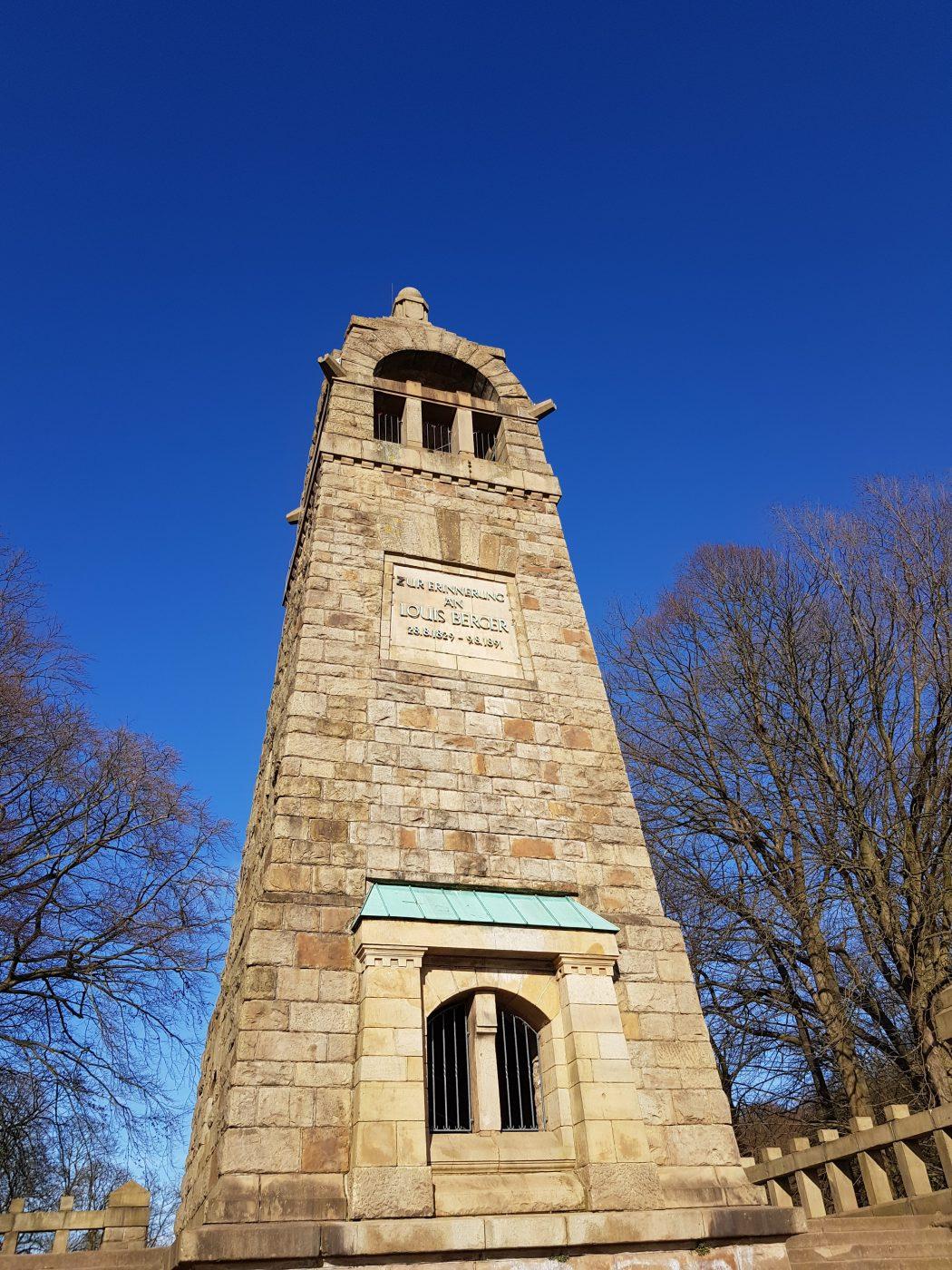 Das Bild zeigt das Bergerdenkmal in Witten