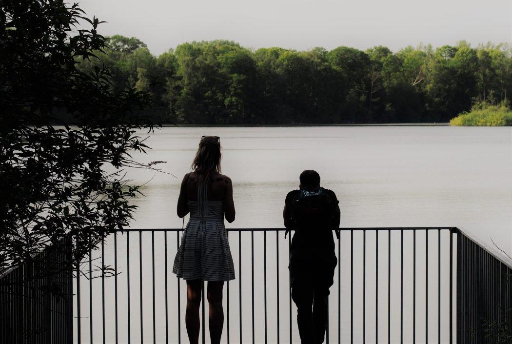Pärchen am Ewaldsee in Herten