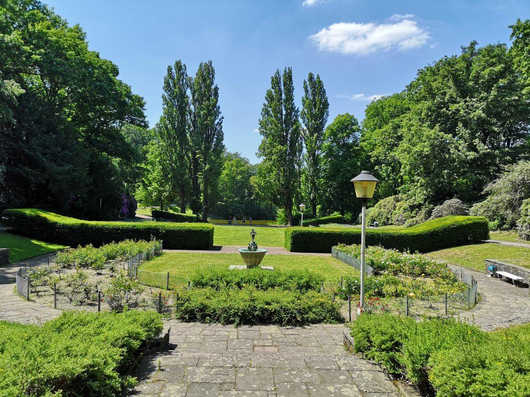 Das Bild zeigt den Stadtpark Bochum