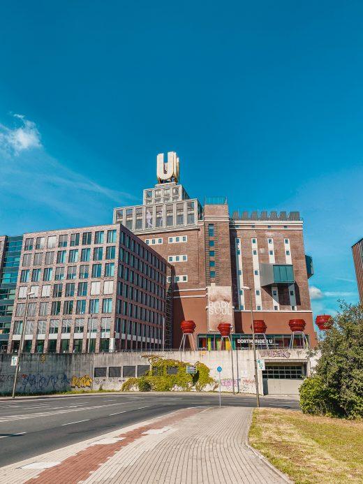 Das Bild zeigt das Dortmunder U