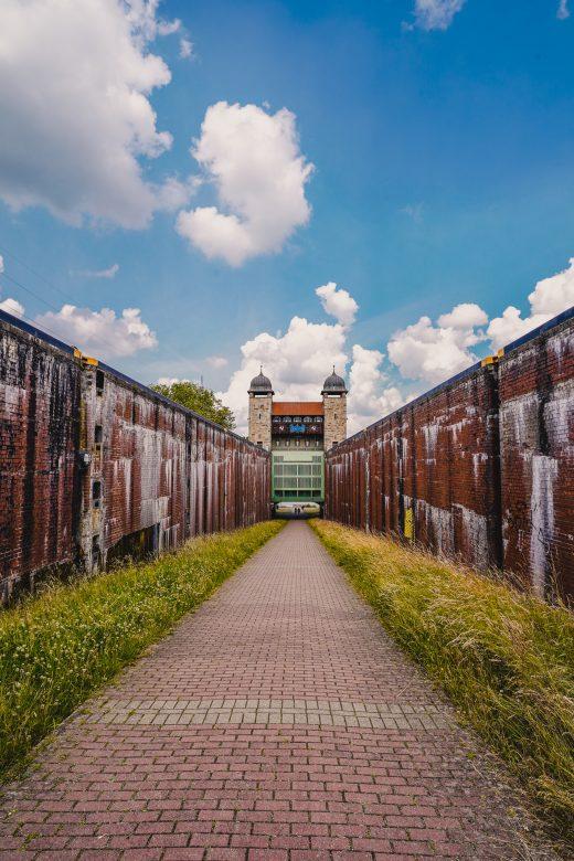 Das Bild zeigt den Schleusenpark Waltrop