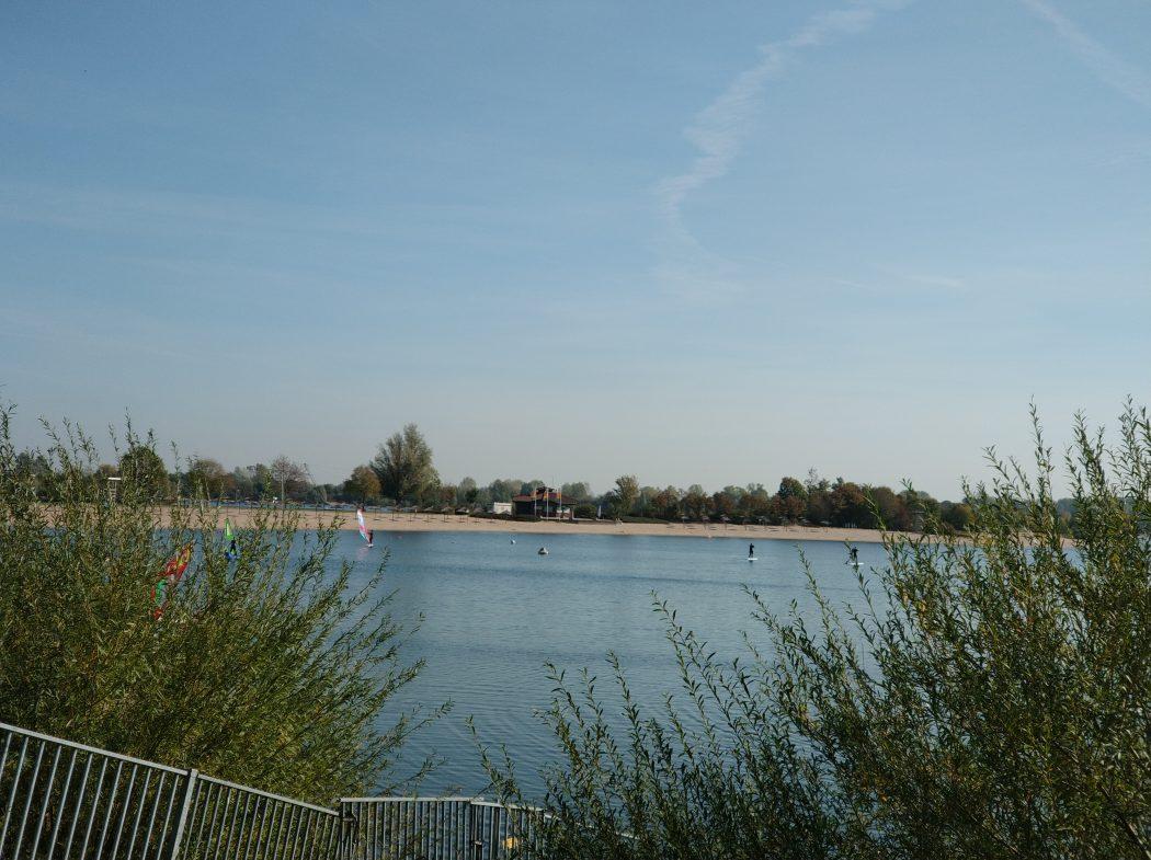 Das Bild zeigt die Sechs-Seen-Platte in Duisburg