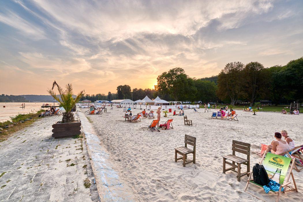Das Bild zeigt den Seaside Beach in Essen
