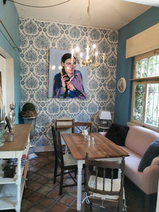 Das Foto zeigt das Vintage Wohnhaus in Hamm von Innen